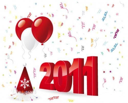 Новогодняя елка носки воздушные шары